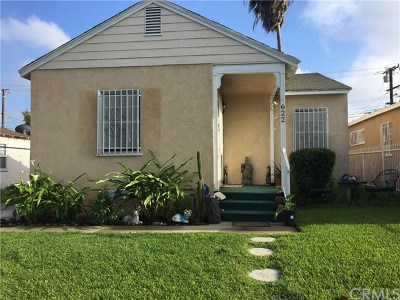 Los Angeles Single Family Home For Sale: 622 E 138th Street