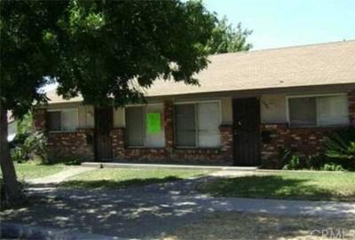 Rialto Multi Family Home For Sale: 1084 N Lilac Avenue