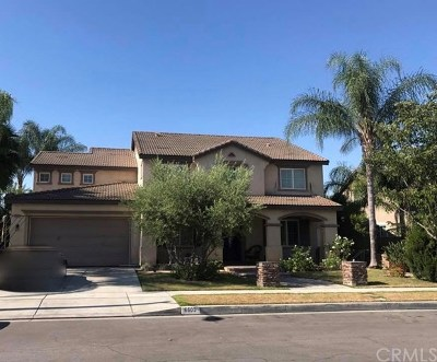 Chino Single Family Home For Sale: 6603 Lacey Street