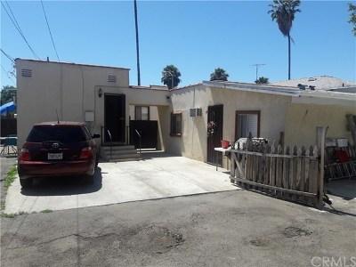 Lynwood Multi Family Home For Sale: 12526 Long Beach Boulevard