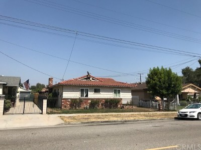 Azusa Single Family Home Active Under Contract: 206 N Dalton Avenue