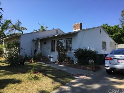 Whittier Single Family Home Active Under Contract: 11745 Merit Lane