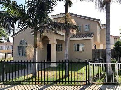 Lynwood Single Family Home For Sale: 3106 Cedar Avenue
