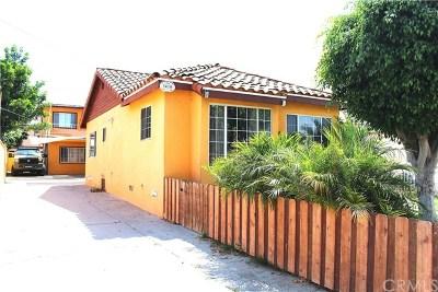 Lynwood Multi Family Home For Sale: 3410 Elizabeth Avenue