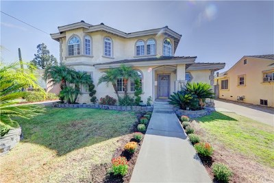 Downey Single Family Home For Sale: 9012 Gaymont Avenue
