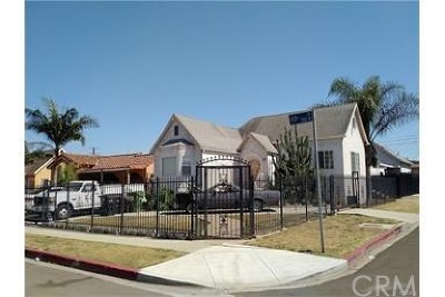 Los Angeles Multi Family Home For Sale: 558 W 113th Street