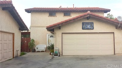 Pomona Condo/Townhouse For Sale: 1039 S Reservoir Street