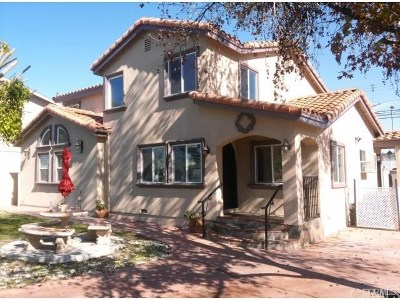 Downey Single Family Home For Sale: 8435 Galt Drive
