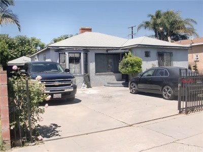 Compton Single Family Home For Sale: 713 S Pannes Avenue