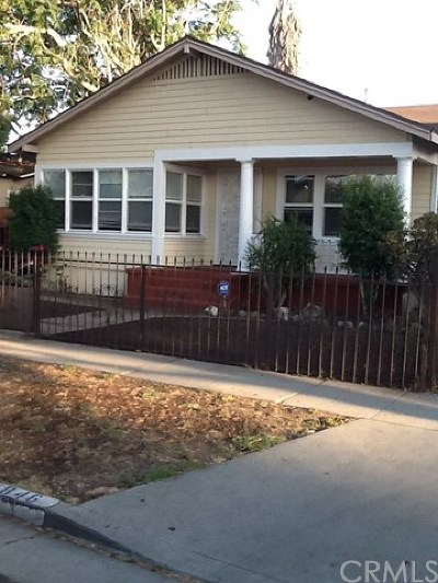 Los Angeles Multi Family Home For Sale: 846 E 77th Street
