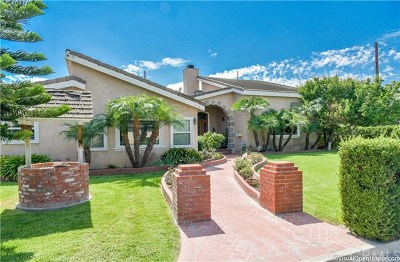 Downey Single Family Home For Sale: 9418 Stamps Avenue