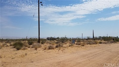 San Bernardino County Residential Lots & Land For Sale: 60620 Atta Way