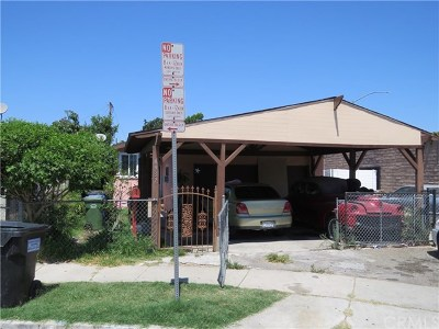 Compton Single Family Home For Sale: 4937 E San Marcus Street