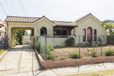 Los Angeles Single Family Home For Sale: 1018 N Alma Avenue