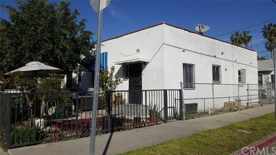 Los Angeles Multi Family Home For Sale: 8815 Wall Street