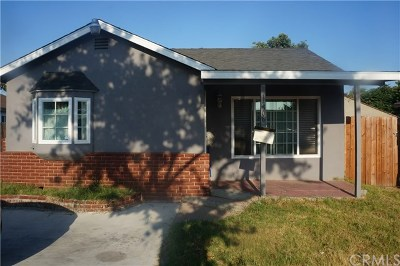 Compton Single Family Home For Sale: 14508 S White Avenue