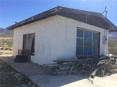Lucerne Valley Single Family Home For Sale: 7272 Camp Rock Road