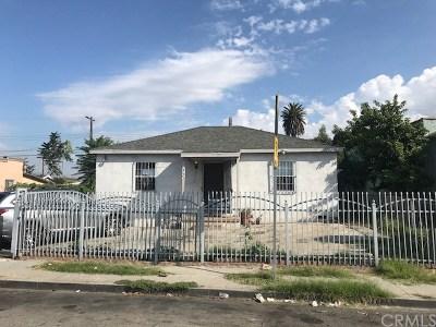 Compton Single Family Home For Sale: 443 W Peach Street