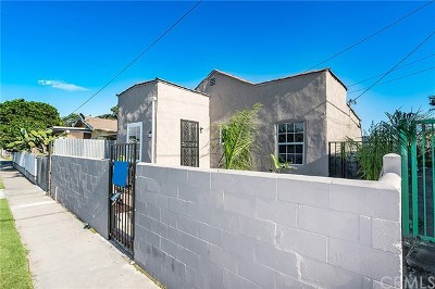 Los Angeles Single Family Home For Sale: 1712 E. 57th Street