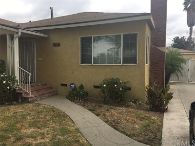 Compton Single Family Home For Sale: 804 S Chester Avenue