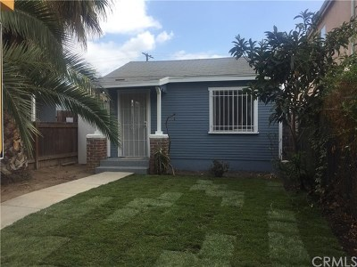 Los Angeles Single Family Home For Sale: 11204 Towne Avenue