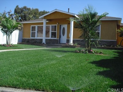 Downey CA Single Family Home For Sale: $739,900