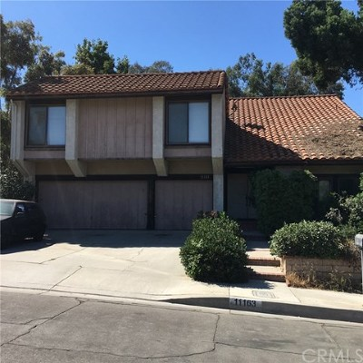 Whittier Single Family Home For Sale: 11163 Canyon Meadows Drive