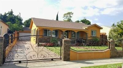 Lynwood Single Family Home For Sale: 11073 Hulme Avenue