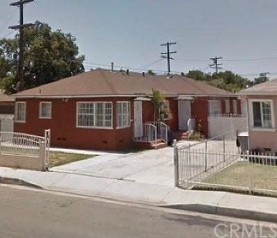 Lynwood Multi Family Home For Sale: 12509 Bullis Road