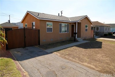 Torrance Single Family Home For Sale: 22822 Doble Avenue
