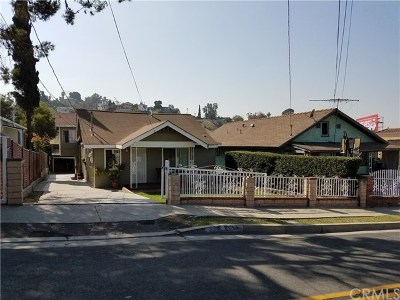 Los Angeles Multi Family Home For Sale: 3314 Whiteside Street