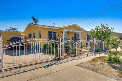 Los Angeles Single Family Home For Sale: 6260 Menlo Avenue