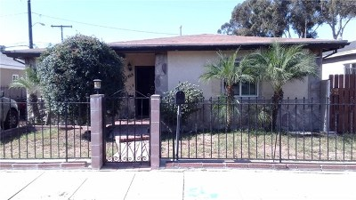 Los Angeles Single Family Home For Sale: 1465 Miller Avenue