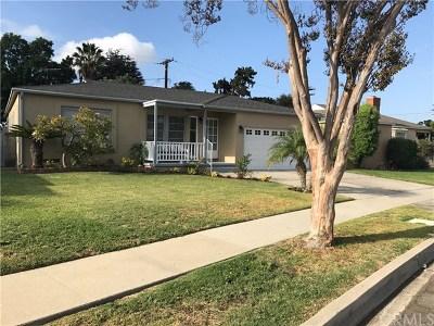 Whittier Single Family Home For Sale: 14808 Jupiter Street