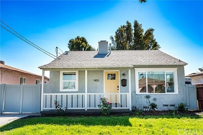 Torrance Single Family Home For Sale: 1450 W 214th Street