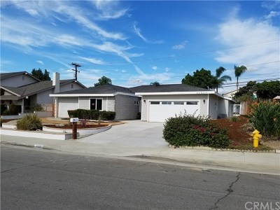 Walnut Single Family Home For Sale: 20527 Barnard Avenue