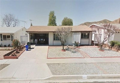 Yucaipa Single Family Home For Sale: 11834 4th Street