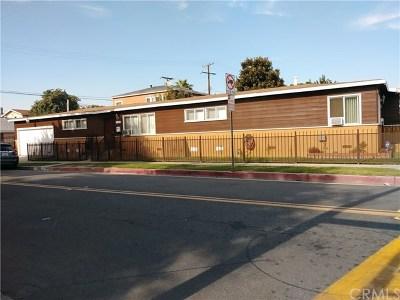 Carson Multi Family Home For Sale: 21151 Santa Fe Avenue