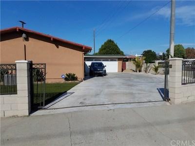 La Puente Single Family Home For Sale: 15254 Francisquito Avenue