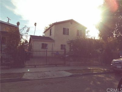 Los Angeles Single Family Home For Sale: 236 W 64th