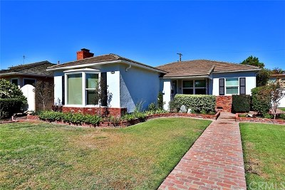 Long Beach Multi Family Home For Sale: 1821 E Marshall Place
