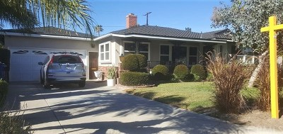 Downey CA Single Family Home For Sale: $729,000