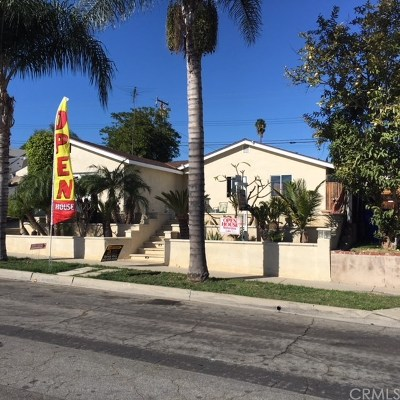 Whittier Single Family Home For Sale: 15921 Ocean Avenue