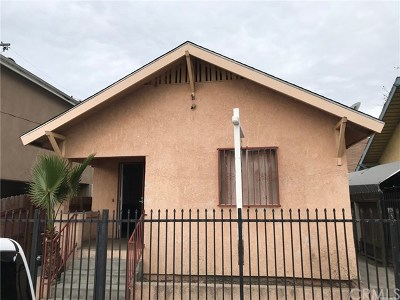 Los Angeles Single Family Home For Sale: 4257 Ascot Avenue