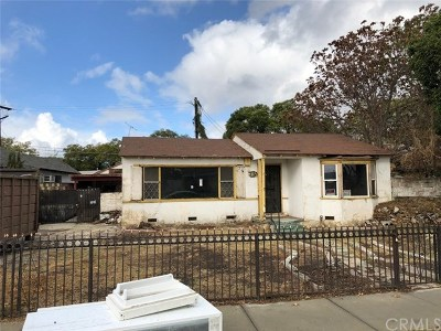 Los Angeles Single Family Home For Sale: 1115 E 118th Place