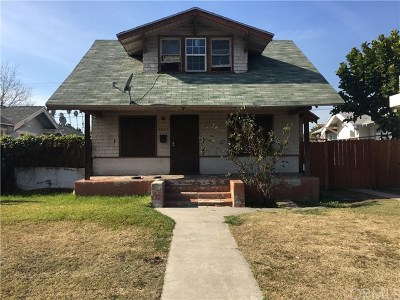 Los Angeles Single Family Home For Sale: 4823 Arlington Avenue