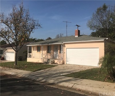 Whittier Single Family Home For Sale: 11321 Indiana Street