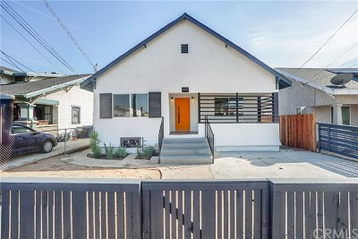 Los Angeles Multi Family Home For Sale: 632 S Evergreen Avenue