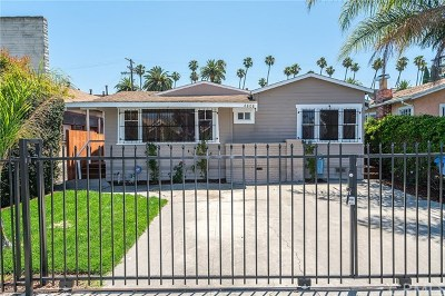 Los Angeles Single Family Home For Sale: 4808 S Van Ness Avenue