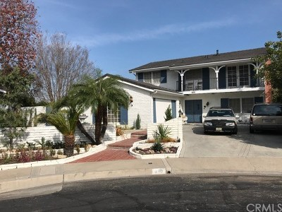 Long Beach Single Family Home For Sale: 880 N Rancho Drive